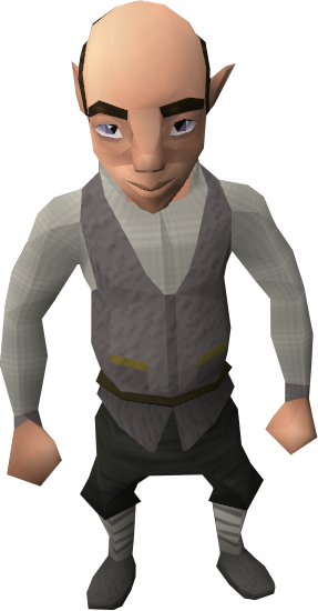 Gnome waiter.png - Gnome HD PNG