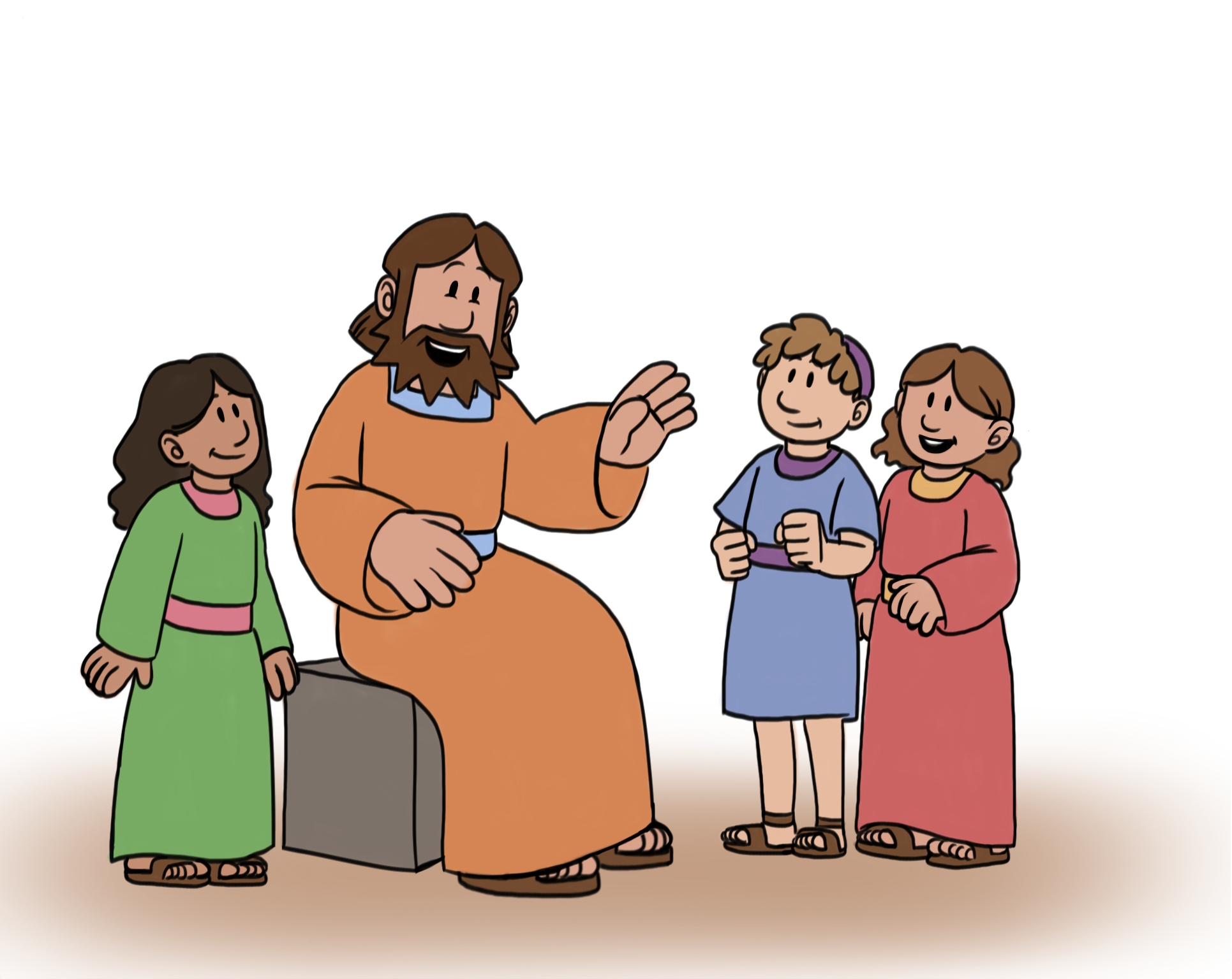 Growing With God Preschool Bible Study | Journey to Easter Series | Jesus  Loves Children | Lesson 6 of 9 - God And Children PNG