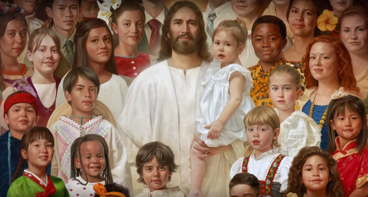 I Am A Child of God | Art by Howard Lyon - God And Children PNG