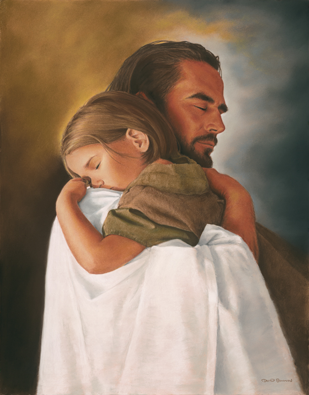 jesus-holding-a-child-prayer-request - God And Children PNG