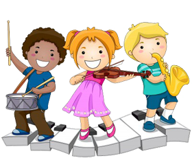Music Classes for children - God And Children PNG
