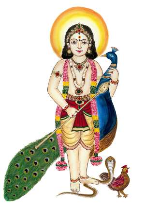 Muruga - God Murugan PNG