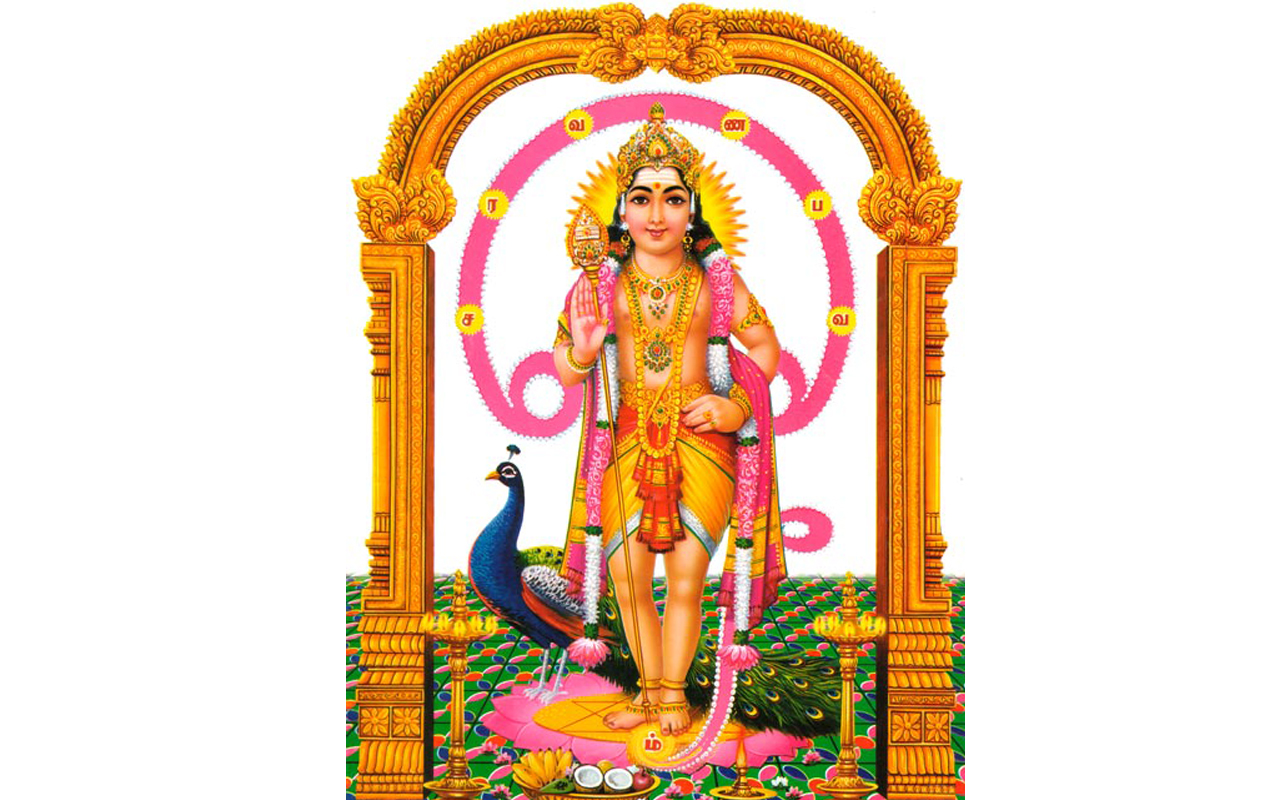 Vetrivel Veeravel - God Murugan PNG
