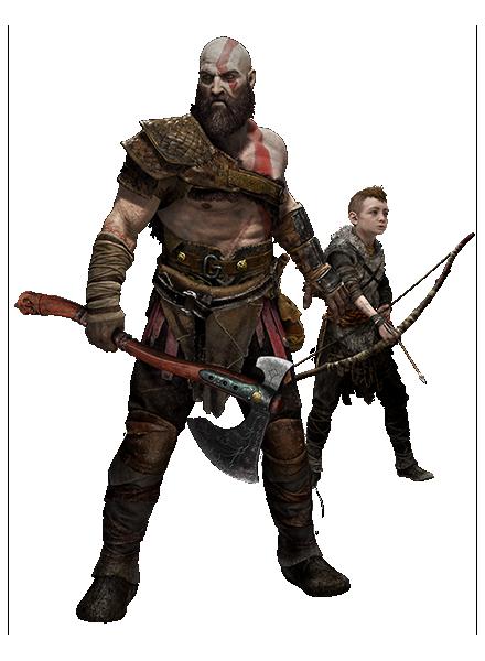 God of Waru0027un bu görkemli yeni hâli, ikonik serinin tüm niteliklerini, yani  vahşi dövüş dinamiklerini, destansı baş düşman mücadelelerini ve nefes  kesen PlusPng.com  - God Of War PNG