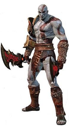 Kratos God of War III.png - God Of War PNG