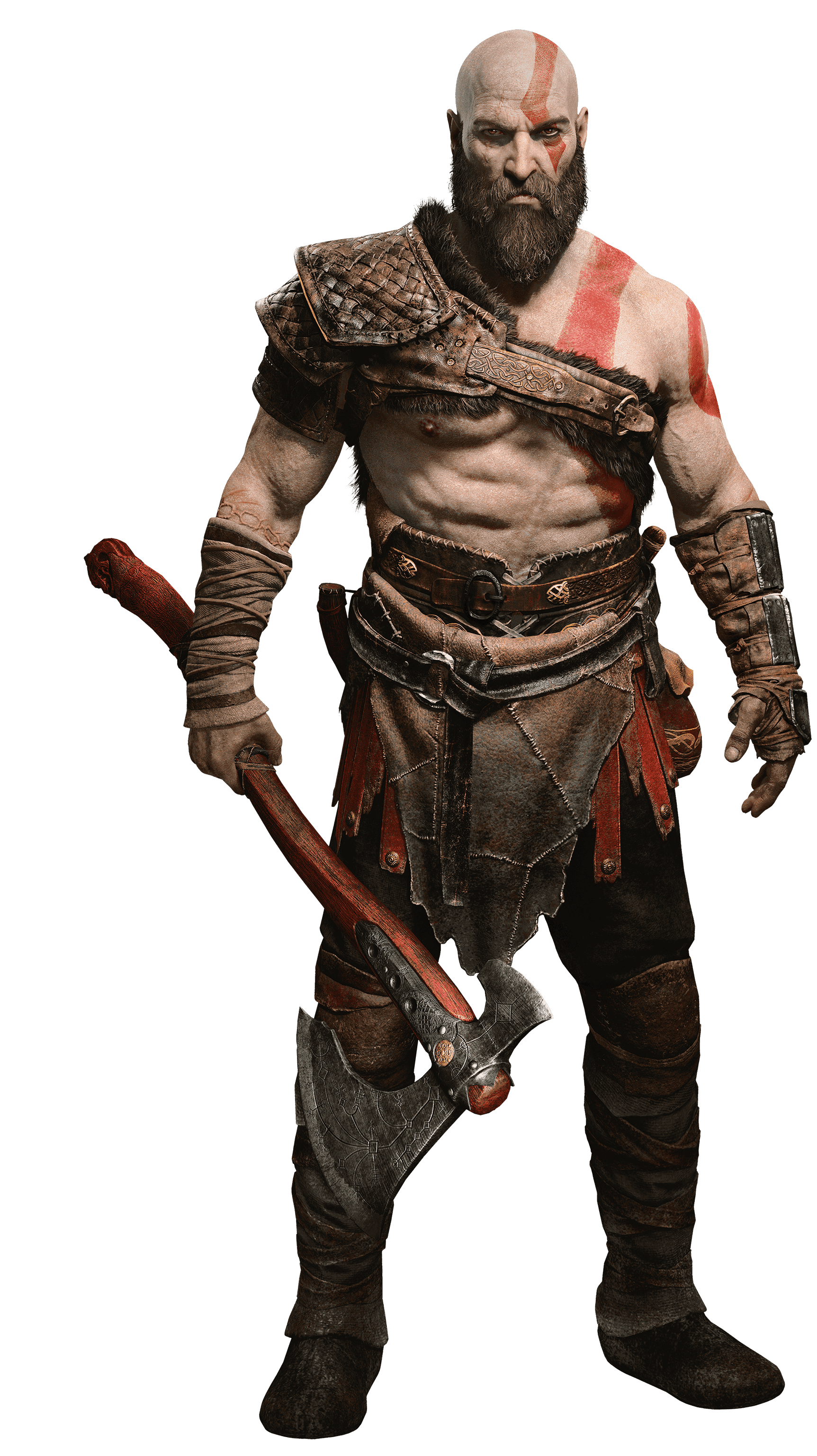 Kratos.png - God Of War PNG