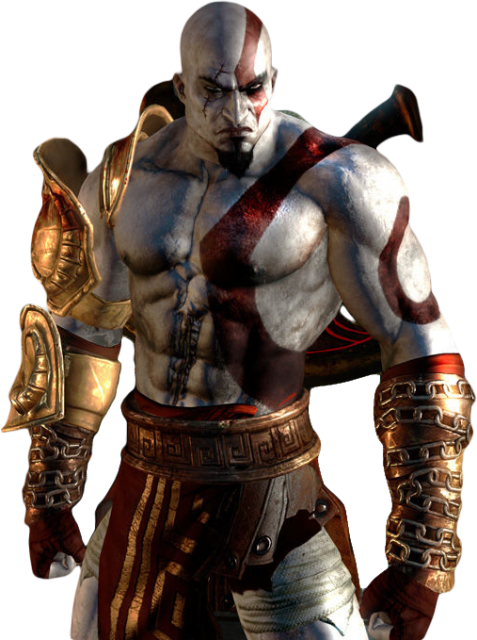 Kratos PNG Transparent Image - God Of War PNG