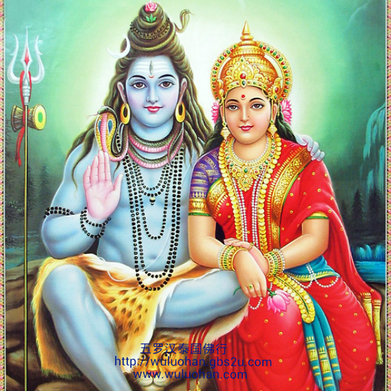 Lord Shiva u0026 Devi Parvati PlusPng.com  - God Siva Parvathi PNG