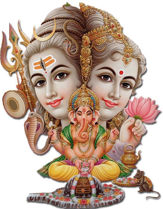 God Siva Parvathi PNG - 85701