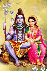 Sivan parvathi - God Siva Parvathi PNG