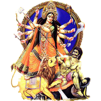 Goddess Durga Maa Png Picture PNG Image