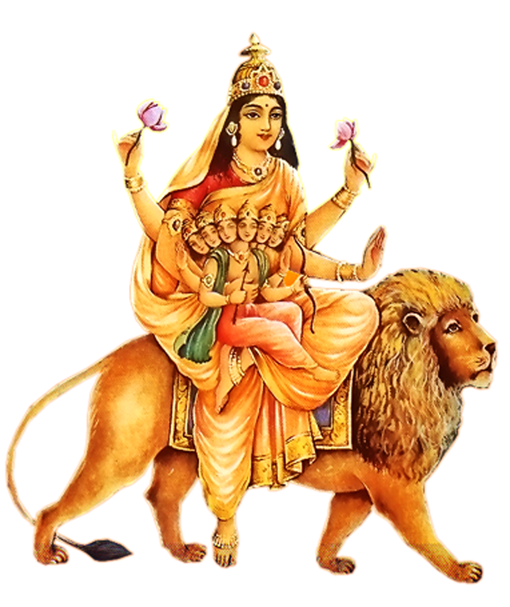 Explore Durga Puja, Hindu Art, and more! - Goddess Durga Maa PNG - Goddess HD PNG