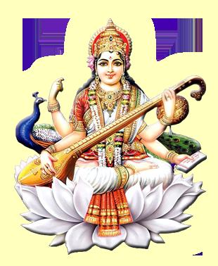 Saraswati Png Hd PNG Image - Goddess HD PNG