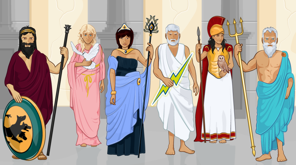 gods and goddesses of greek mythology essay Facts and information on the many greek gods and goddesses of ancient mythology from aphrodite to zeus, if you need concise facts on a greek god or goddess for a school project or if you're just interested in learning something new about the gods and goddesses in general, you've come to.