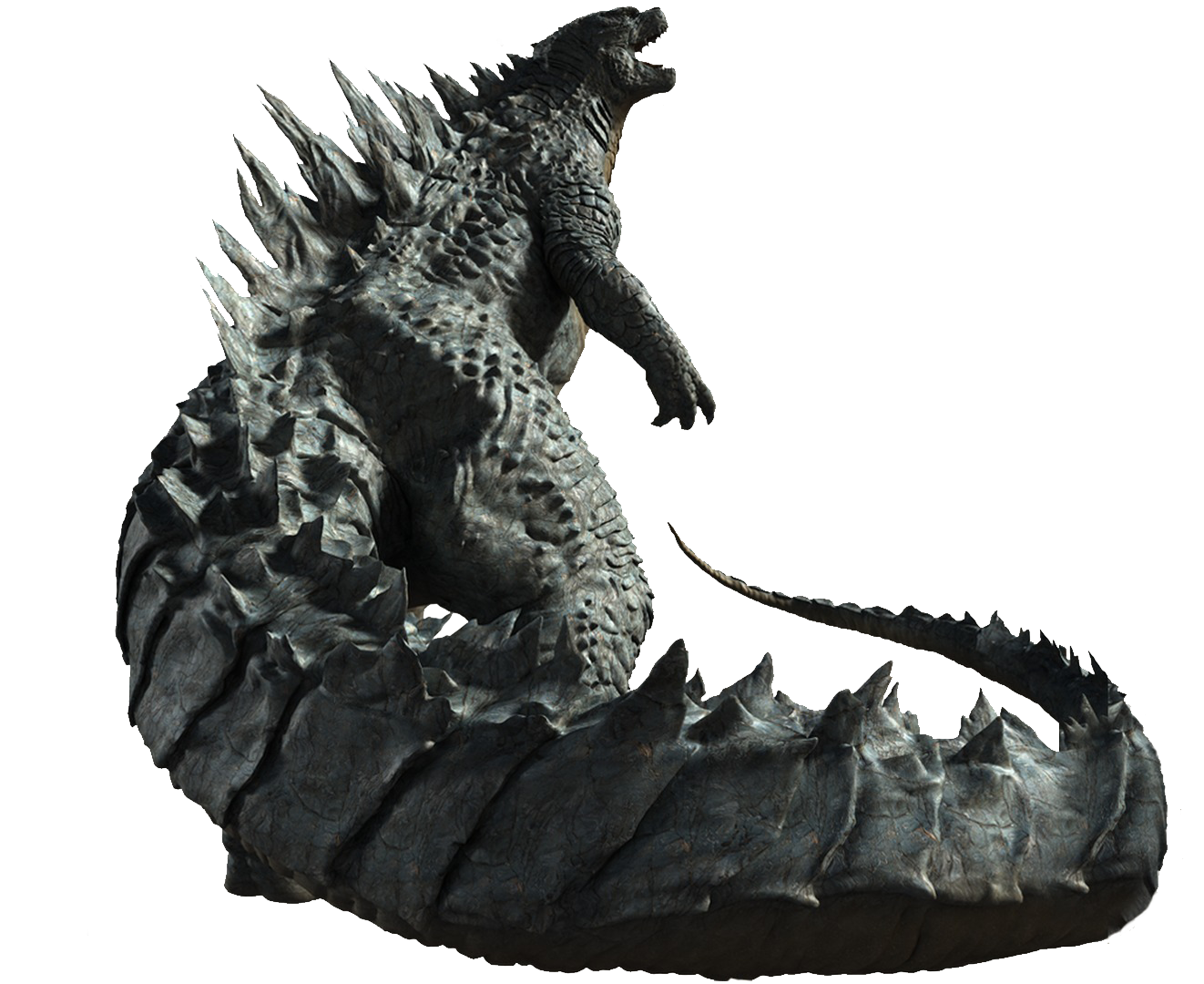 LegendaryGoji Full Body Art 2.png - Godzilla PNG HD