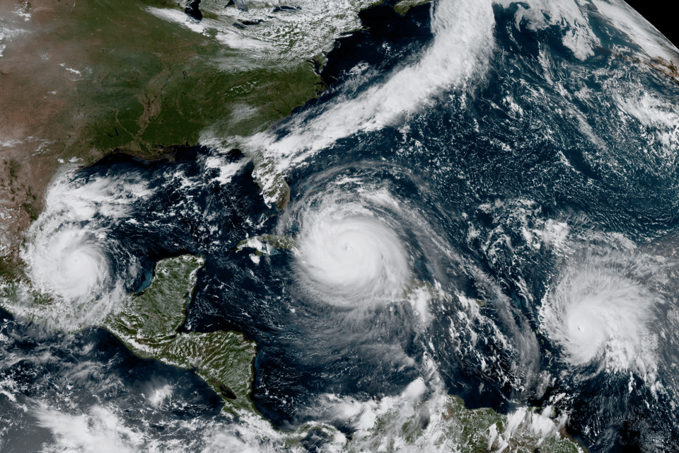 File:GOES-16 Sees Hurricanes Katia, Irma and José.png - Goes PNG