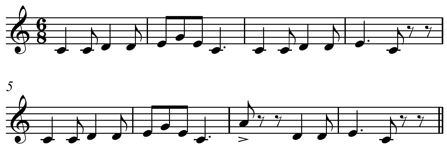 File:Pop Goes the Weasel melody.PNG - Goes PNG