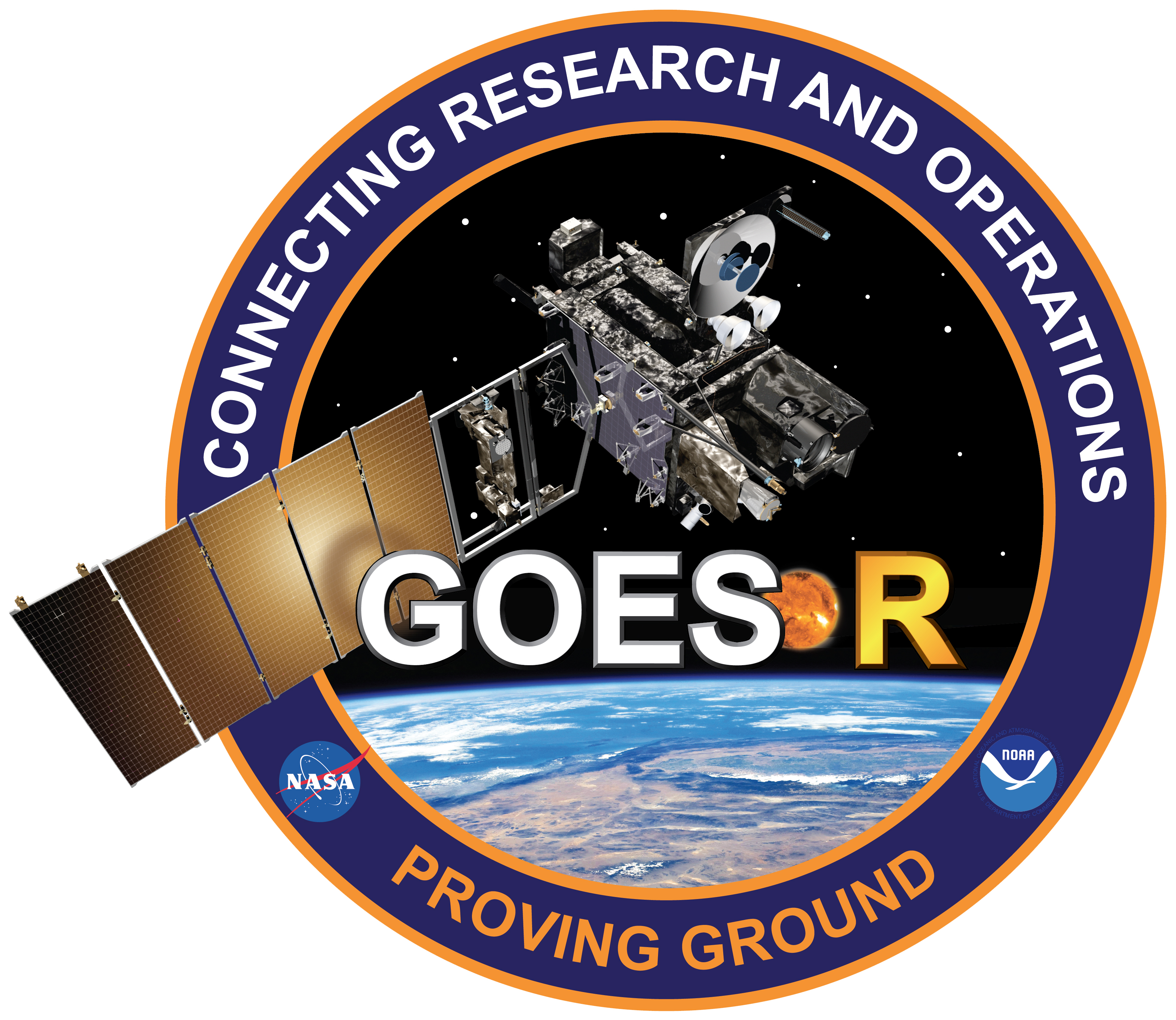 GOES-R Proving Ground Decal - Goes PNG