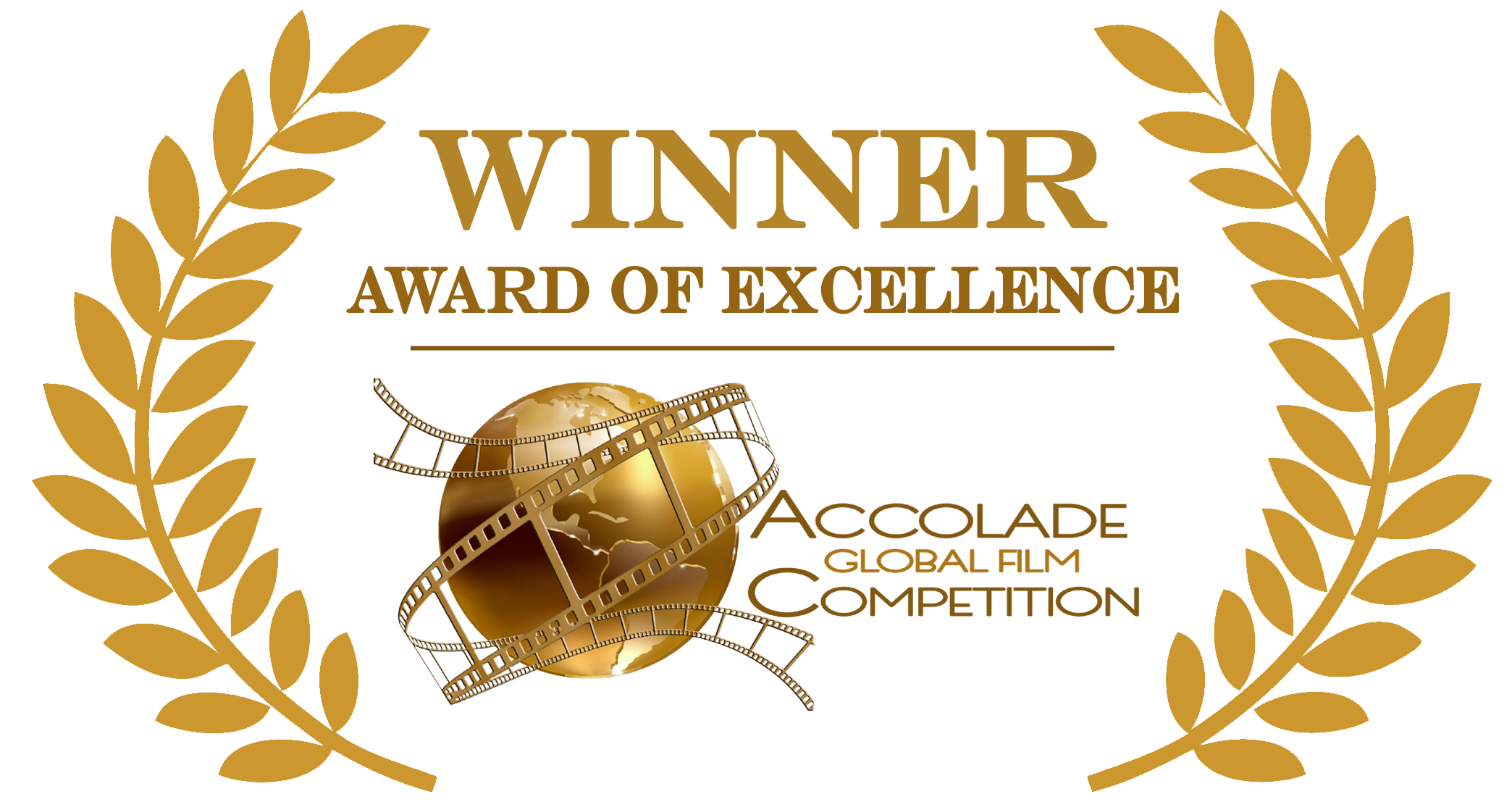 Accolade-Excellence-logo-Gold - Gold Award PNG