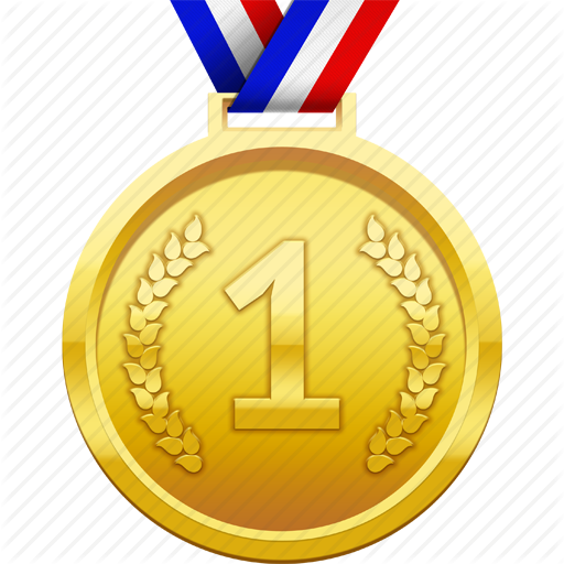 award, first place, gold, medal, prize, winner icon - Gold Award PNG