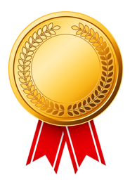 File:Gold Medal (CCW Awards).png - Gold Award PNG