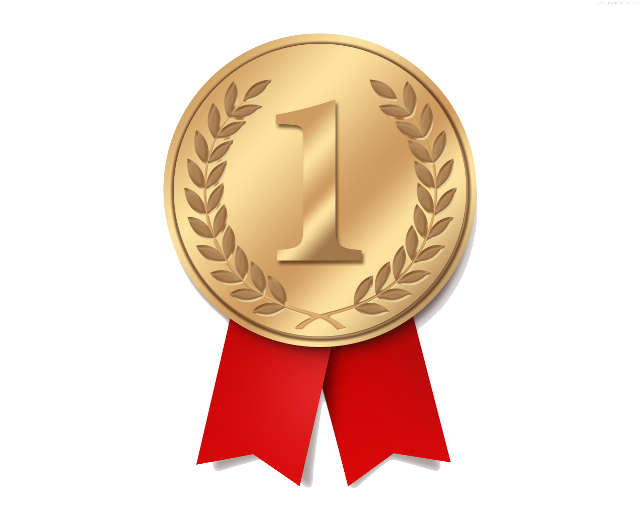 Gold Medal High Quality PNG - Gold Award PNG