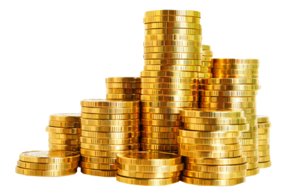Gold Coins PNG HD - 128559