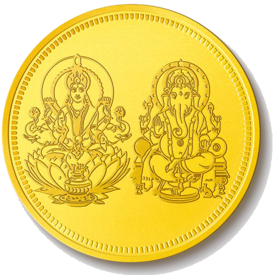 Lakshmi Gold Coin PNG Pic - Gold Coins PNG HD