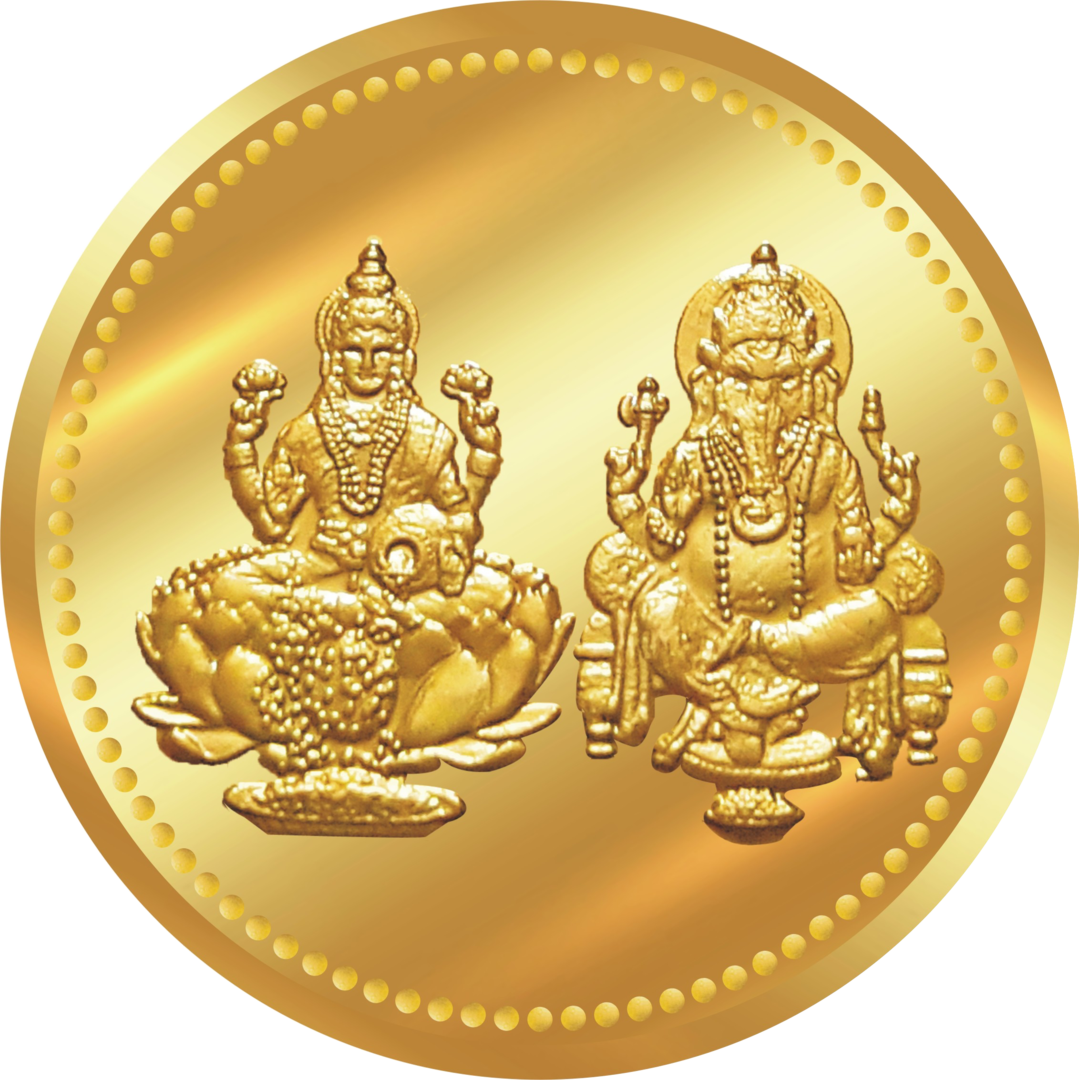Lakshmi Gold Coin PNG Transparent Image - Gold Coins PNG HD