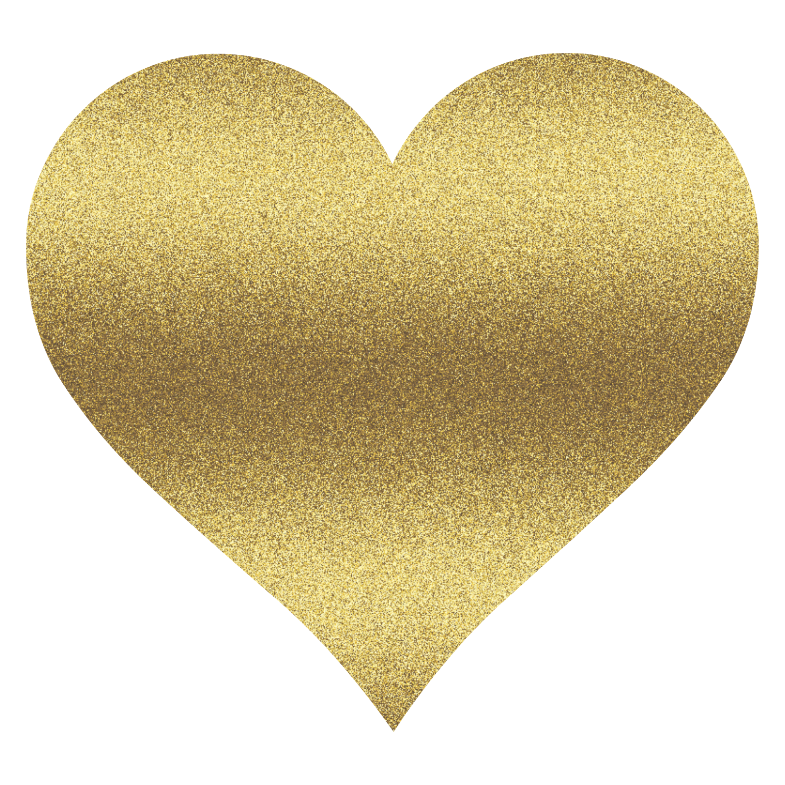 Gold Digital Hearts and Weddi