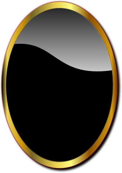 Gold Oval Frame Png Gold oval mirror clip artOval Frame Png - Oval PNG