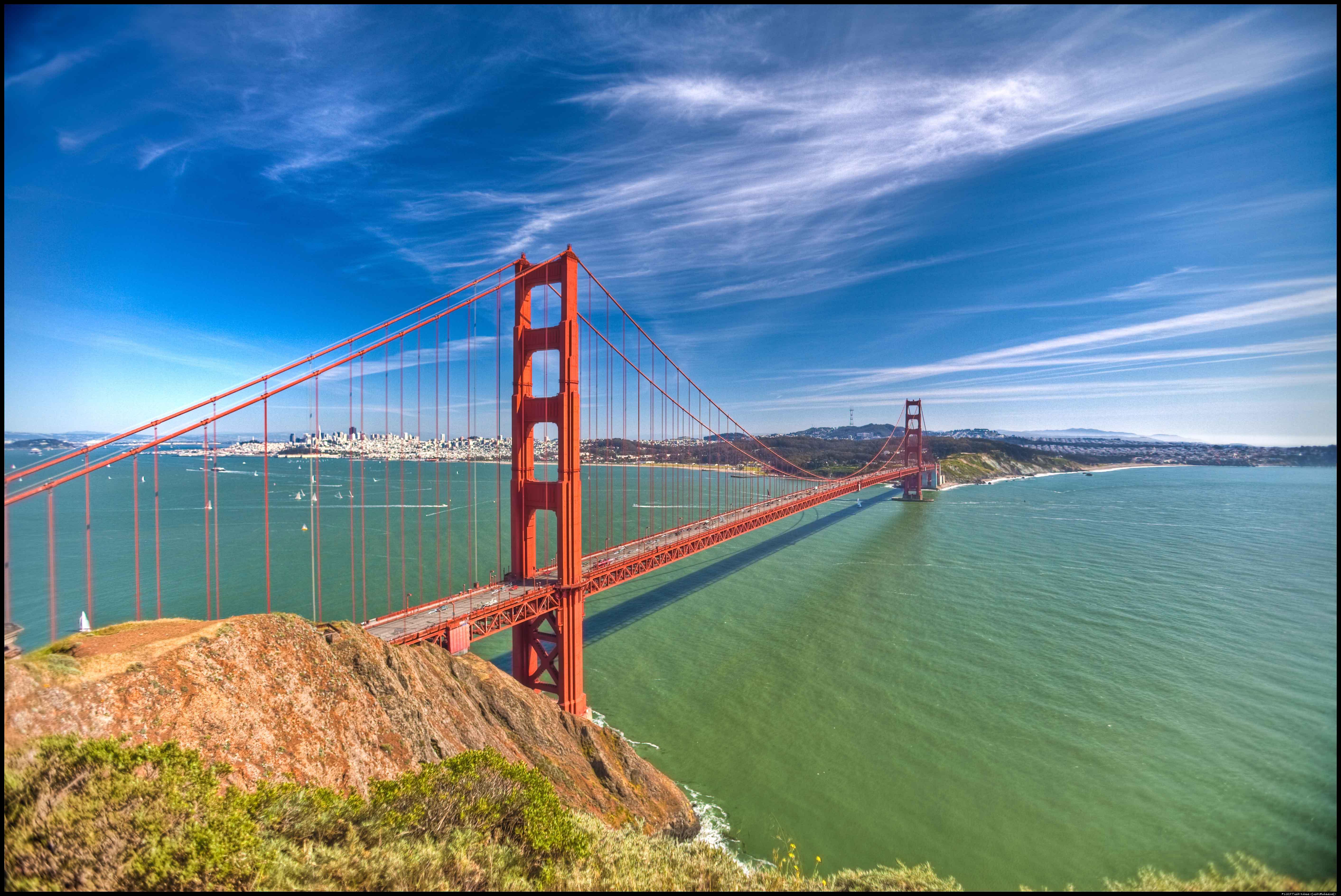 Golden Gate Bridge PNG HD - 130484