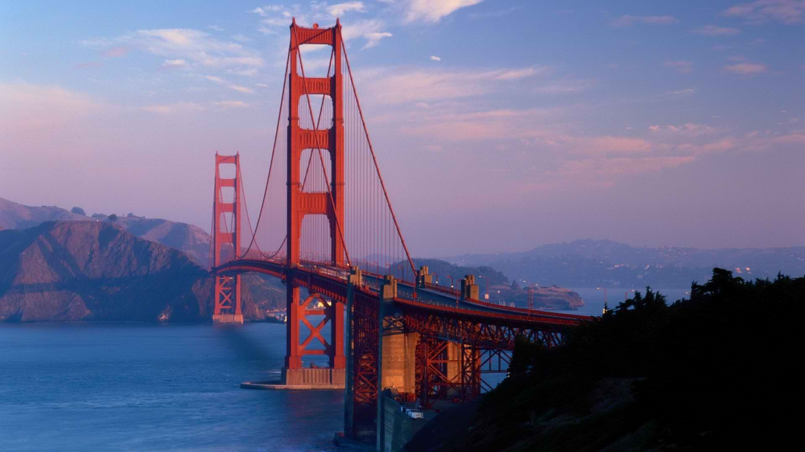 Golden Gate Bridge - Golden Gate Bridge PNG HD