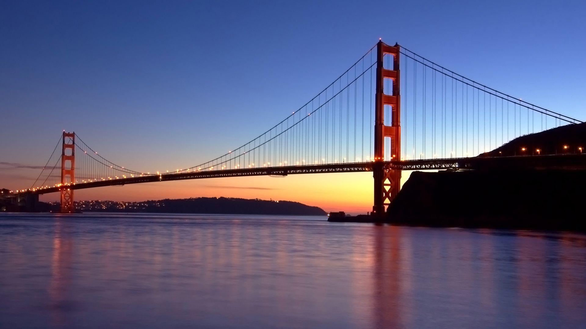 Golden Gate Bridge PNG HD - 130481