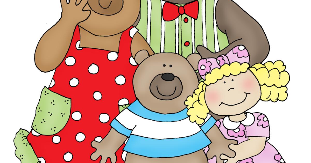Goldilocks And The Three Bears PNG - 157626