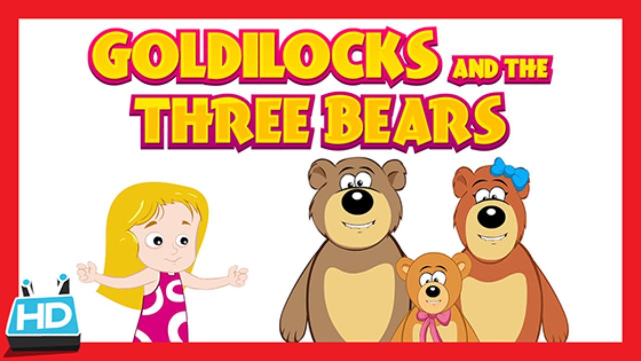 Goldilocks And The Three Bears PNG - 157630