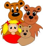 Goldilocks And The Three Bears PNG - 157628