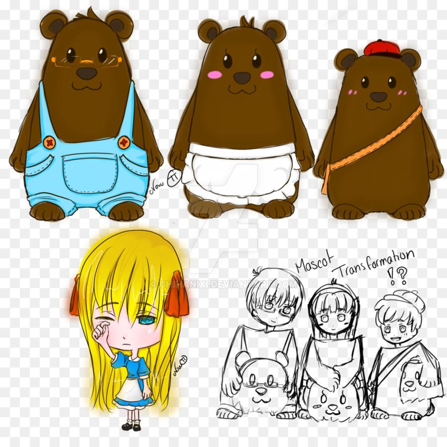 Goldilocks And The Three Bears PNG - 157632