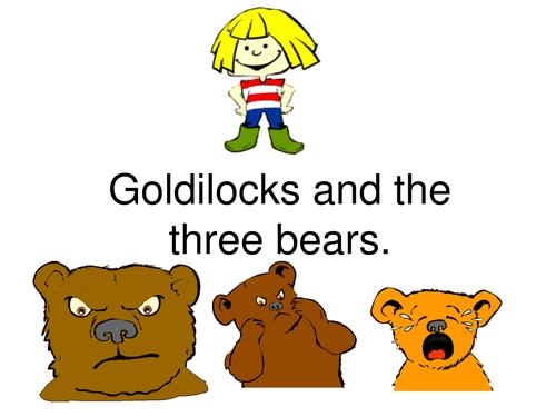 Goldilocks And The Three Bears PNG - 157639