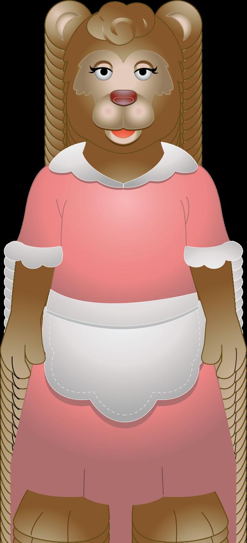 Goldilocks And The Three Bears PNG - 157641