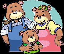 Goldilocks And The Three Bears PNG - 157631