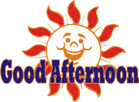 Good Afternoon logo - Good Afternoon PNG