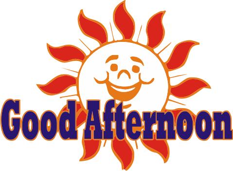 Good Afternoon logo - Good Evening PNG