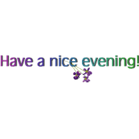 Good Evening Png Clipart PNG Image - Good Evening PNG