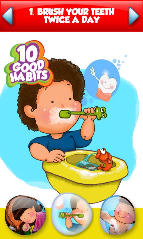 Good Habits For Kids PNG - 53423