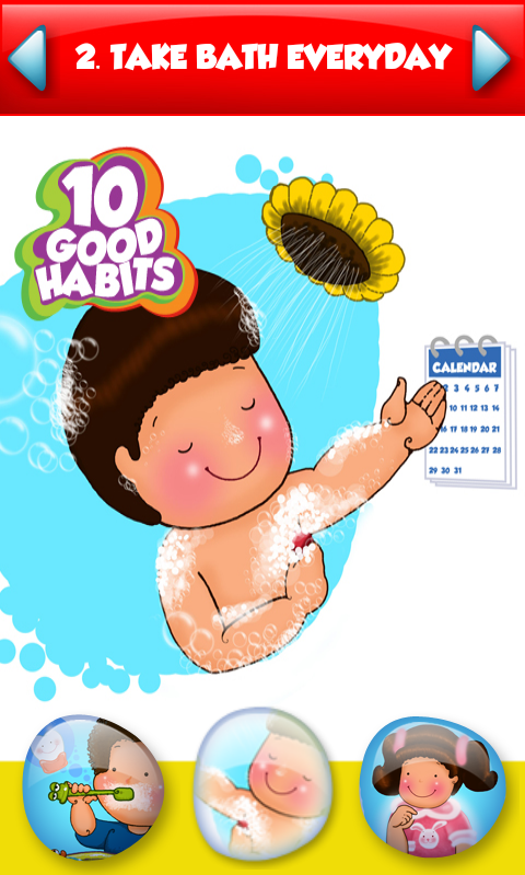 0:00 - Good Habits For Kids PNG