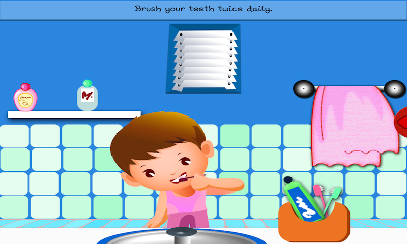 Good Habits By Tinytapps- Screenshot - Good Habits For Kids PNG