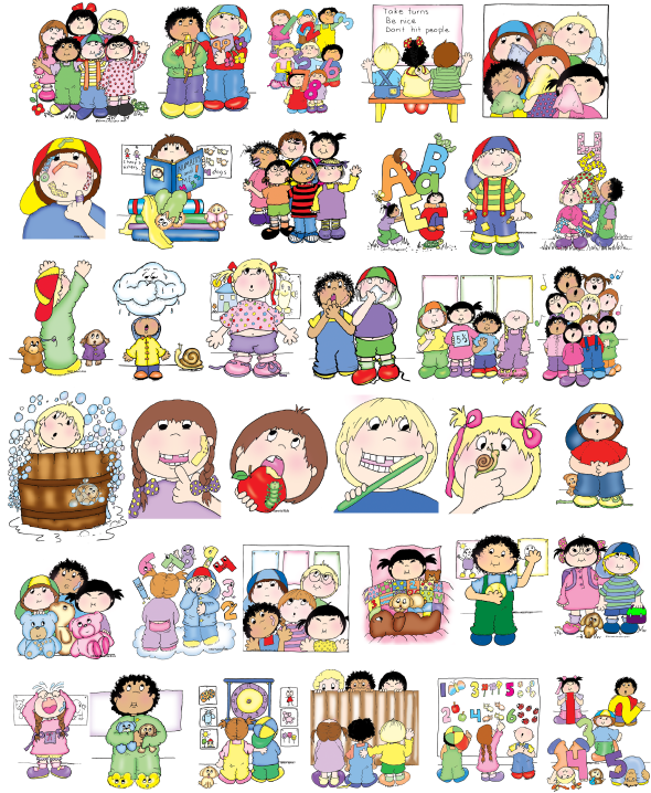 Good Habits For Kids Clipart Collection - Good Habits For Kids PNG