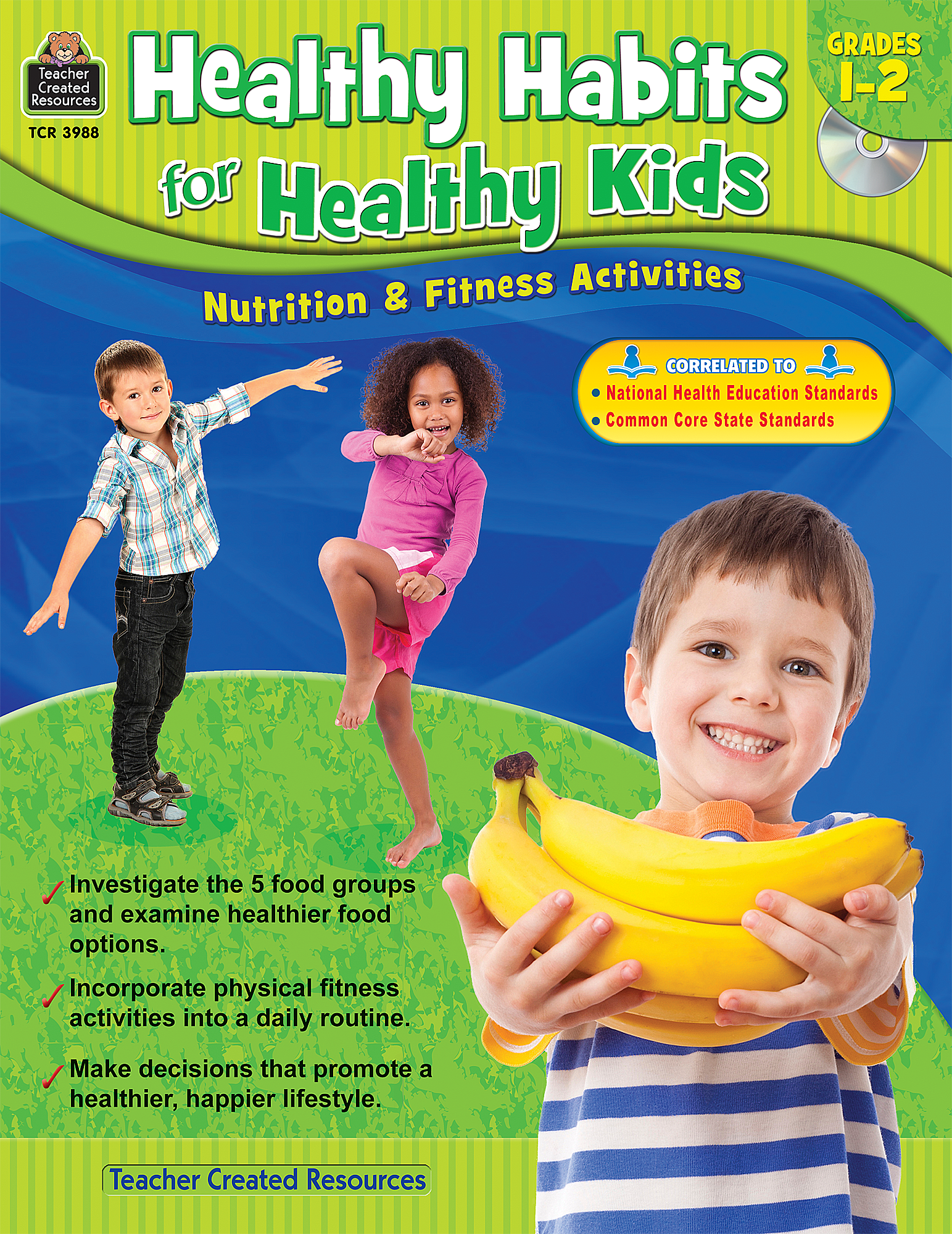 Healthy Habits For Healthy Kids Grade 1-2 - TCR3988 | Teacher Created  Resources - Good Habits For Kids PNG