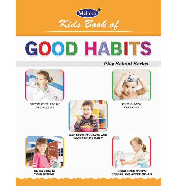 Kids Book Of Good Habits(A.L) - Good Habits For Kids PNG